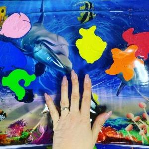 Детский  водный коврик Аквариум.