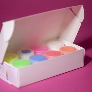 Светящаяся краска для рисования Acmelight  Акрил набор 8 шт по 20мл/160мл