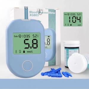 Прибор для измерения уровня сахара в крови (глюкометр) XG803 оптом