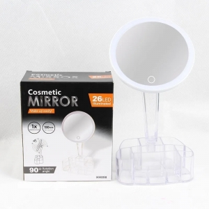 Зеркало для макияжа со светодиодной подсветкой HH098 оптом