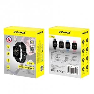 Умные часы со спортивными режимами Awei H6 оптом
