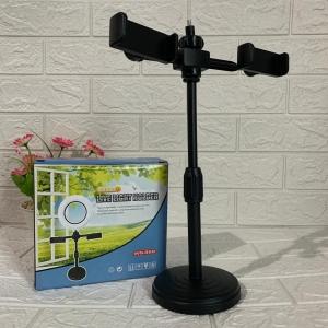Кольцевая лампа для макияжа с 2 держателями для телефона Live Light Holder WS-868 оптом