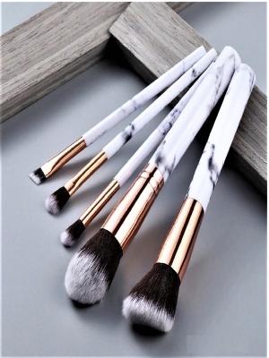 Набор кистей для макияжа 5 шт. Кисти для растушевки и конкуринга. Кисти косметические.