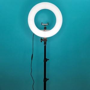 кольцевая лампа (32 см) со штативом
