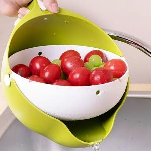 Корзина сливная для фруктов, круп зеленый
