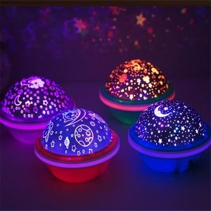Ночник-проектор звездного небо NIGHT LIGHT