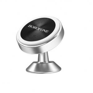 Автомобильный держатель BOROFONE BH 5 магнитный/крепление на панель (серебро)