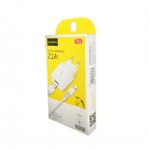 СЗУ Type-C 1 USB выход (2100mAh/5V) MAIMI T13 (белый)