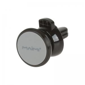 Автомобильный держатель MAIMI Z2 магнитный/крепление на вент. решетку (черный/серый)