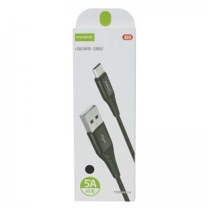 USB кабель micro USB 1.0м MAIMI X33 (черный) 5A