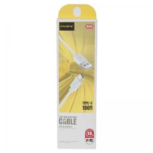 USB кабель для USB Type-C 1.0м MAIMI M215 (белый) 2A