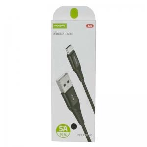 USB кабель для USB Type-C 1.0м MAIMI X33 (черный) 5A