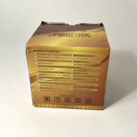 Аудиоколонка AiBiMY MY-311BT со светомузыкой MicroSD, Aux, Bluetooth, белая, оптом