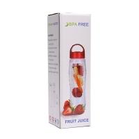 Бутылка со съемным отделом для фруктов Fruit Juice (Tritan Plastic).