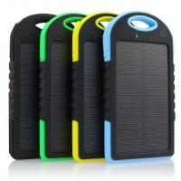 Power Bank на солнечных батареях Solar Charger 5000mah оптом
