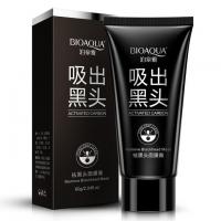 Черная маска-пленка от прыщей и черных точек Bioaqua