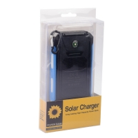 Внешний аккумулятор на солнечных батареях Solar Charger EK-6 16800mAh оптом