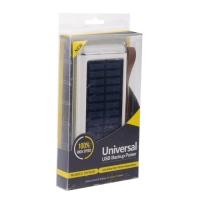 Внешний аккумулятор на солнечных батареях Universal UD-8 20000mAh оптом.