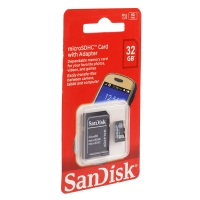 Карта памяти SanDisk microSDHC 32GB
