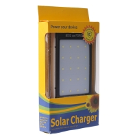 Power bank на солнечных батареях Solar Charger Protector installed 20000mAh