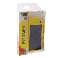 Power Bank на солнечных батареях Polimer 15000 mAh