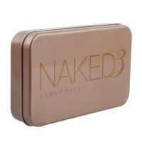 Набор кистей для макияжа Naked3 12 шт в металлическом футляре