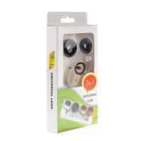 Набор универсальных объективов для телефона Universal Clamp Lens 3 in 1