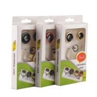 Набор универсальных объективов для телефона Universal Clamp Lens 3 in 1 оптом