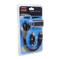 Зарядка-гибрид 3 в 1 Carregador Universal 1000мА оптом