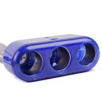 Разветвитель прикуривателя Wine USB Triple Socket с USB-входом оптом