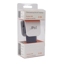 Сетевое зарядное устройство 2 USB 3,1А