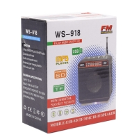 Портативная колонка Wster ws-918 оптом