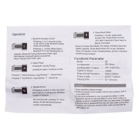 Bluetooth колонка с функцией Power Bank на 1000 мАч Z6 оптом