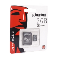 Карта памяти Kingston microSDHC/microSDXC Class 10 HS-I 2GB