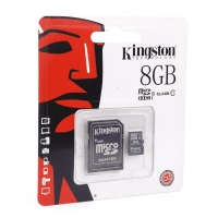 Карта памяти Kingston microSDHC/microSDXC Class 10 HS-I 8GB оптом
