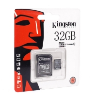 Карта памяти Kingston microSDHC/microSDXC Class 10 HS-I 32GB оптом