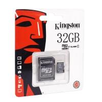 Карта памяти Kingston microSDHC/microSDXC Class 10 HS-I 32GB оптом
