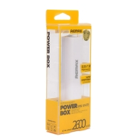 Power bank Remax White Mini Power Box 2600mAh
