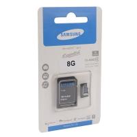 Карта памяти MicroSDHC Essential class 10 8GB
