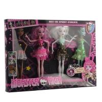 Набор кукол Spooky students оптом