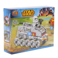 Конструктор CB TOYS серии STARS WARS Clone turbo tank