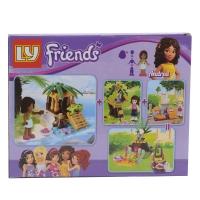 Конструктор LY-Friends №1 оптом