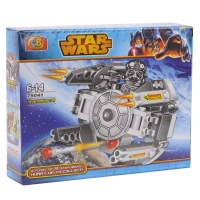 Конструктор CB TOYS серии STARS WARS Tie interceptor