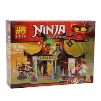 Конструктор LELE Ninja 79041 Бой у Додзе