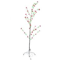 Светодиодное дерево алые розы