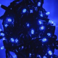 Светодиодная гирлянда digital light series синяя оптом