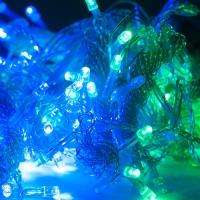Светодиодная гирляндаС Новым годом 320 ламп оптом