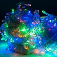 Светодиодная гирлянда С Новым годом 400 ламп 18 м