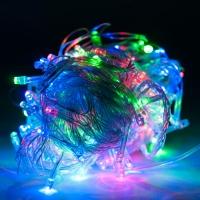 Светодиодная гирлянда С Новым годом 300 ламп 17 м