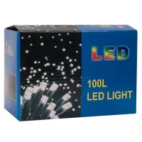 Светодиодная гирлянда LED 100 ламп теплый свет оптом